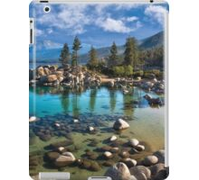 Sand harbor Morning iPad Case/Skin