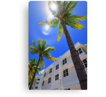 Miami South Beach  Canvas Print