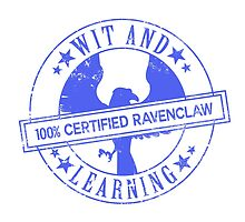 Hogwarts Certified - Ravenclaw by whitebalanced
