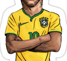 Neymar World Cup Sticker
