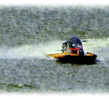Bay City River Roar - Practice Day by Francis LaLonde