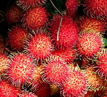 Rambutan Delight by Marylou Badeaux