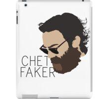 Chet Faker - Minimalistic Print iPad Case/Skin