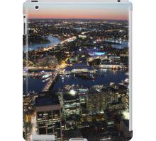 Sydney, Australia, dusk from the air iPad Case/Skin