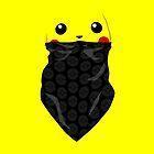 Bandana Pikachu by coffeewatson