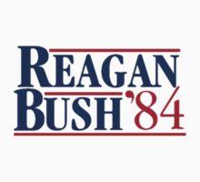 Ronald Reagan and George Bush 1984 Kids Clothes