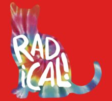 Radical Cat Tie Dye Kids Clothes
