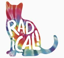 Radical Cat Tie Dye by shebandit