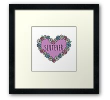 Slutever Daisy Framed Print