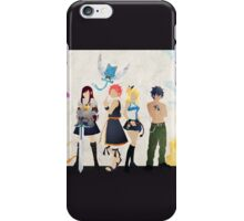The Protagonists - Fairy Tail  iPhone Case/Skin
