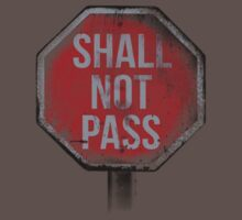 Shall Not Pass by Ross Moreno