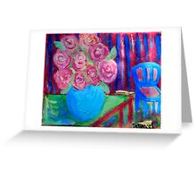 The Blue Vase 2 Greeting Card