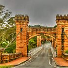 Hampden Bridge in the Kangaroo Valley .. HDR by Michael Matthews