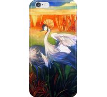 "crane ""balearica pavonina"" iPhone Case/Skin"