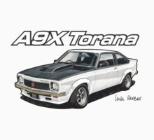 Holden A9X Torana in White by UncleHenry