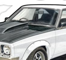 Holden A9X Torana in White Sticker