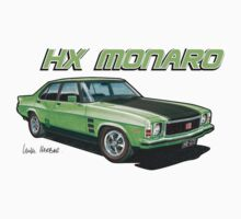 Holden HX Monaro in green by UncleHenry
