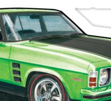 Holden HX Monaro in green Sticker