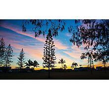 Elliott Sunset Photographic Print