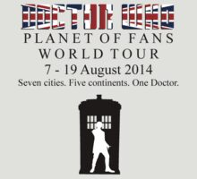 Doctor Who World Tour 2014 by Towerjunkie