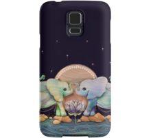 Lotus Flower Elephants of the Rainbow Samsung Galaxy Case/Skin