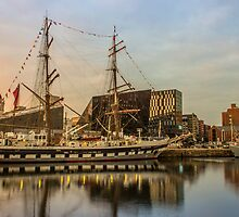 Stavros S Niarchos Tall Ship by Paul Madden