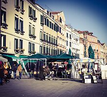 Venetian marketplace by visualimagery
