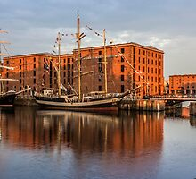 Canning Dock and Albert Dock by Paul Madden