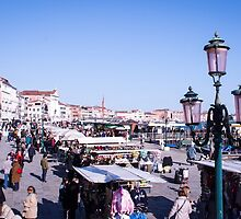 Venice market by visualimagery
