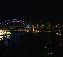 Sydney Night Vista by Andrew Felton