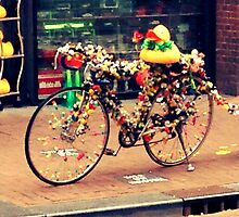 Amsterdam Bicycle by thehippievegan