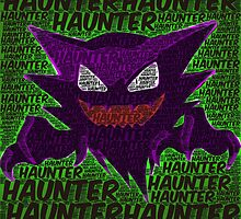 Pokemon: Haunter Print by Colin Bradley