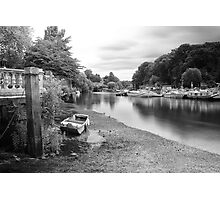 Old Boat at Twickenham Riverside Photographic Print