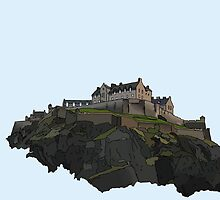Edinburgh Castle by Haidee Bain