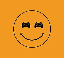 smiley game controller by Vana Shipton