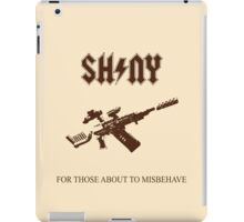 Those About To Misbehave iPad Case/Skin