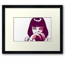 I said goddamn! Framed Print