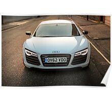 Audi R8 V10 Poster