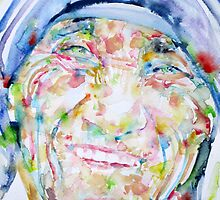 MOTHER TERESA - watercolor portrait by lautir