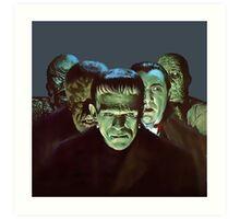 Gang of Monsters  Art Print