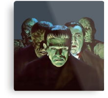 Gang of Monsters  Metal Print