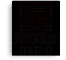 SHOGUN AUDIO Canvas Print