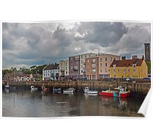 Harbour at St Andrews Poster