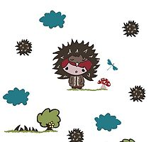 Edi the Echidna & Friend by Suzanne Naidoo