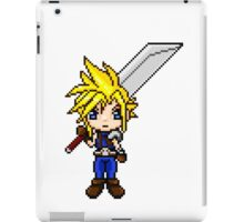 Cloud Strife Pixel Art iPad Case/Skin