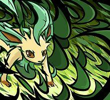 Leafeon | Razor Leaf by ishmam