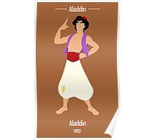 Aladdin Illustration Poster