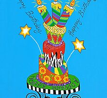 You Take The Cake by Lisa Frances Judd~QuirkyHappyArt