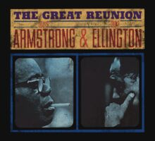 Louis Armstrong Duke Ellington by ndw1010