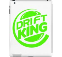 Drift King Green iPad Case/Skin